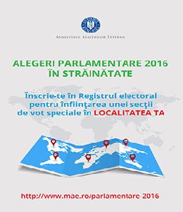 Inscrie-te in Registrul electoral pentru infiintarea unei sectii de vot speciale in localitatea ta