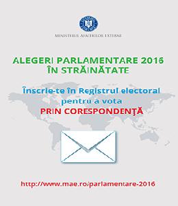 Inscrie-te in Registrul electoral pentru a vota