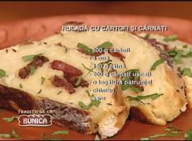 Rulada cu cartofi si carnati