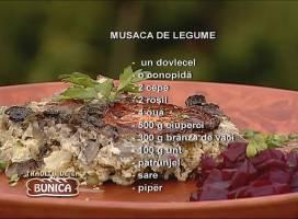 Musaca de legume