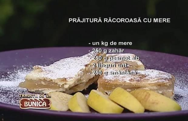 Prajitura racoroasa cu fructe