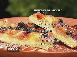 Prajitura Simfonie de august