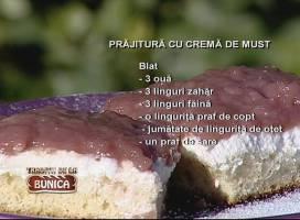 Prajitura cu crema de must