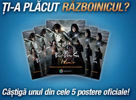 CONCURS pentru fanii serialului Razboinicul!
