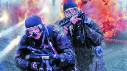 U.S. SEALS - Santaj la Washington