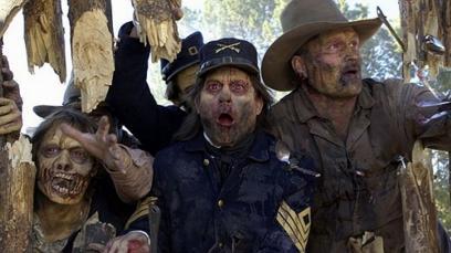 Zombii in Vestul Salbatic