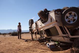 Crima in desert