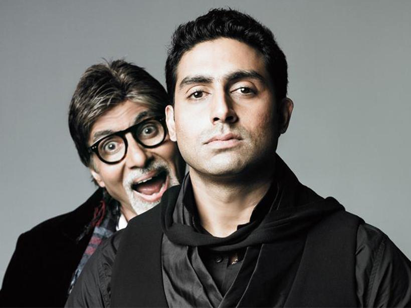 Abhishek Bachchan si tatal sau, Amitabh Bachchan