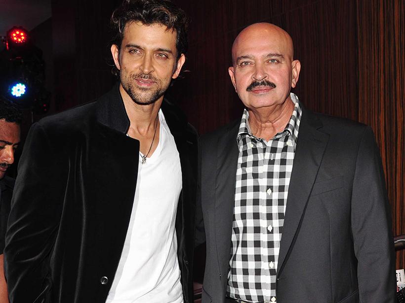 Hrithik Roshan si tatal sau Rakesh Roshan