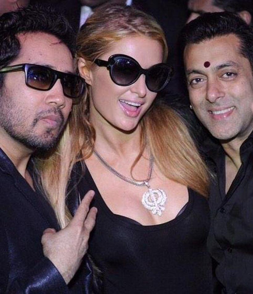 Salman Khan si Paris Hilton