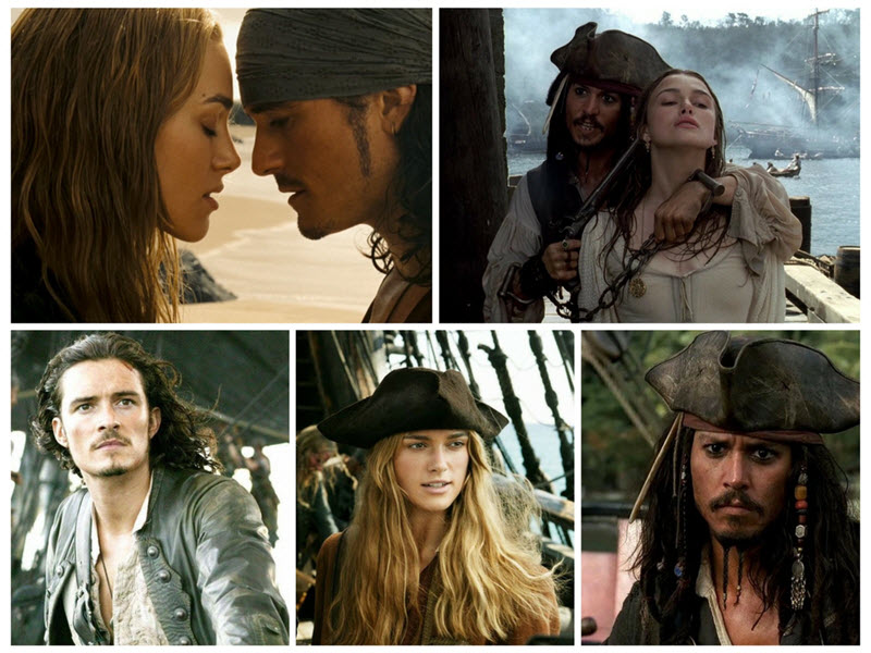 triunghi amoros piratii din caraibe
