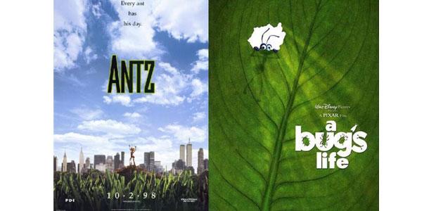 Antz vs. A Bug's Life