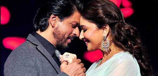 Shahrukh Khan si Madhuri Dixit