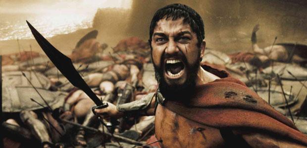 Gerard Butler ca Leonidas