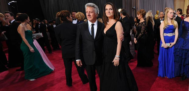 Lisa si Dustin Hoffman