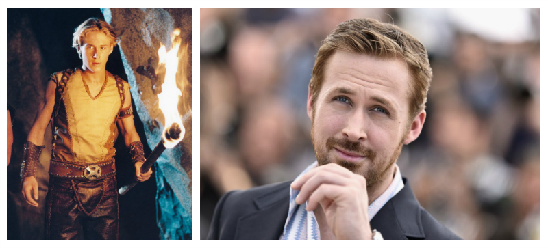 Ryan Gosling atunci acum
