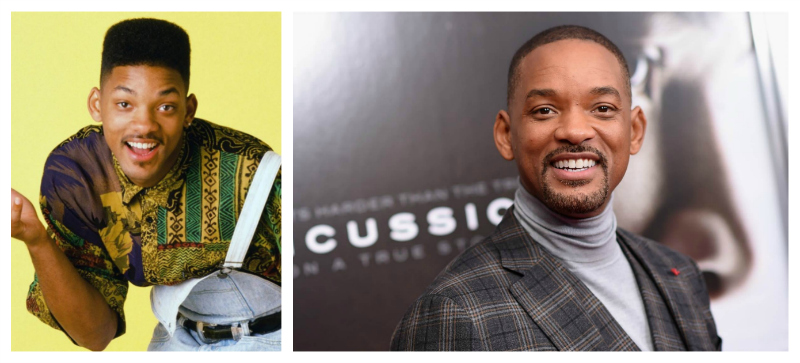 Will Smith atunci acum debut