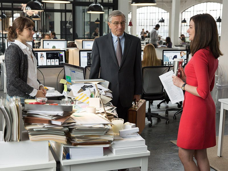 the intern film nou